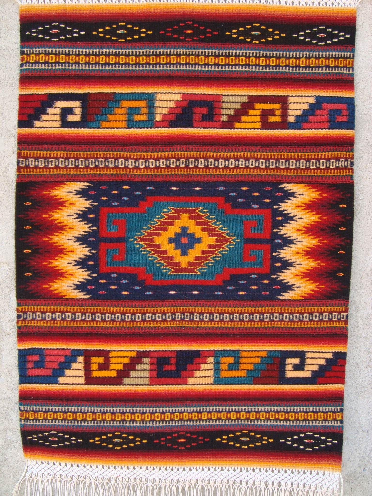 Tapete De Reyna Mendoza Ru 237 Z Mexican Furniture Amp Details