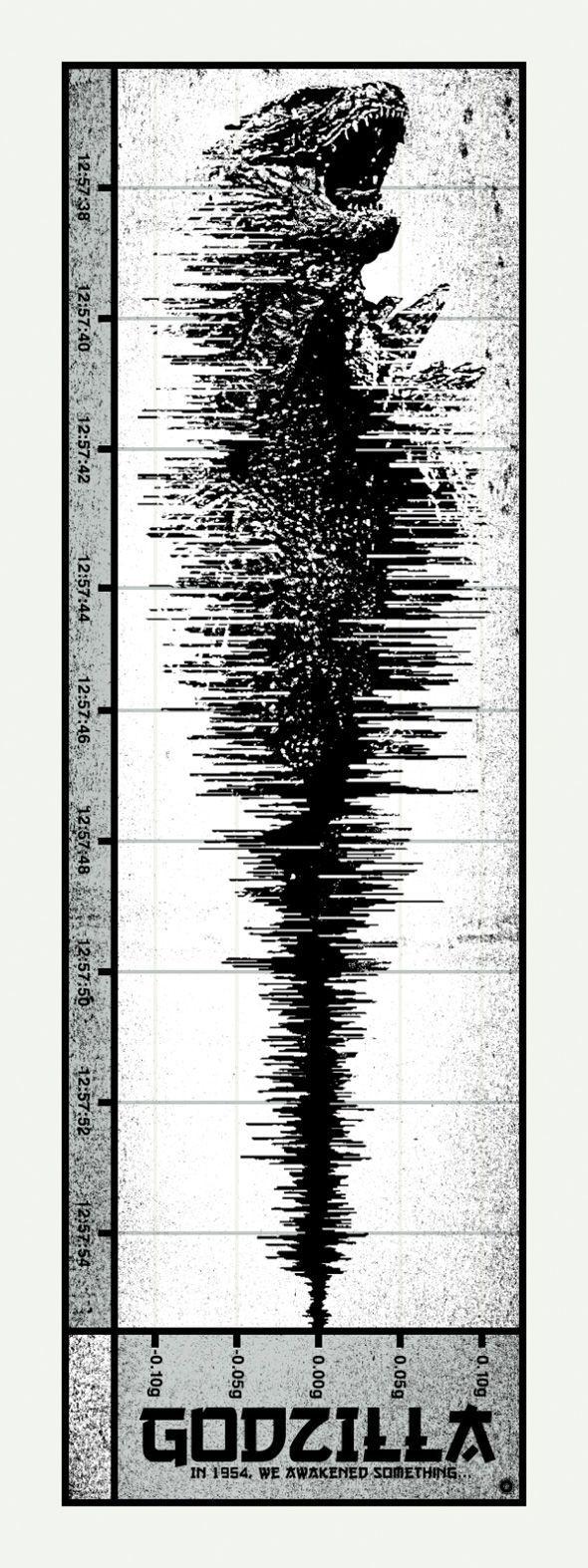 godzilla print in 1954 we awakened something heisei edition chris garofalo - Godzilla Pictures To Print