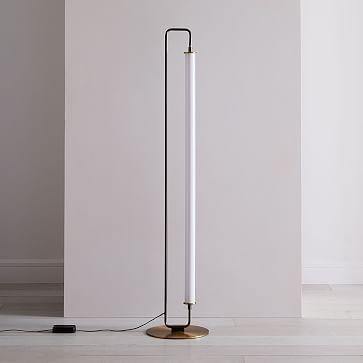 Linear Metal Led Floor Lamp Led Floor Lamp Modern Floor Lamps Lamp