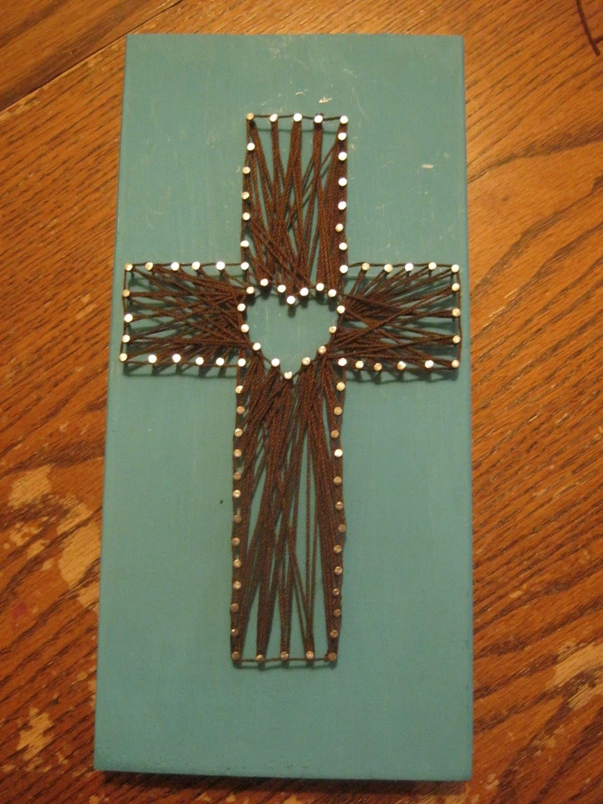 Cross template simple cross image craft ideas pinterest crosses - Image Result For String Art Patterns With Nails Cross And Horseshoe