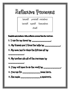Pronoun Worksheets For 2nd Grade #3   Educación   Pinterest ...