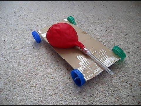 How To Make An Air Powered Balloon Car All You Need Are