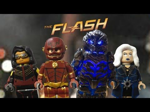 Lego CW Flash Season 3 Future Flash, Savitar, Killer Frost
