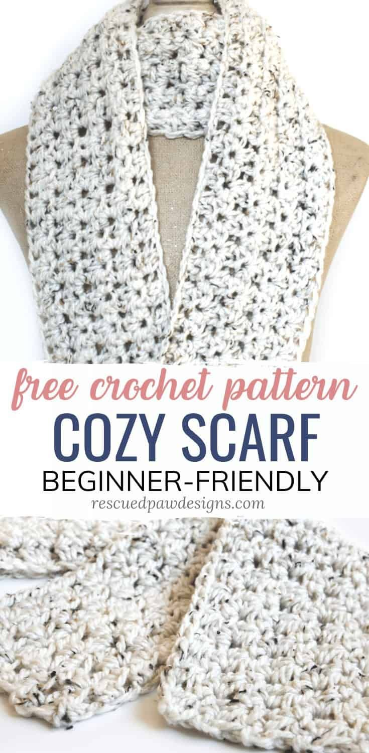 Free Crochet Scarf Pattern - Easy Crochet