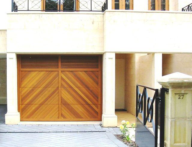 Garage Door Louvre Herringbone Garage Doors Door Inspiration Wooden Garage Doors