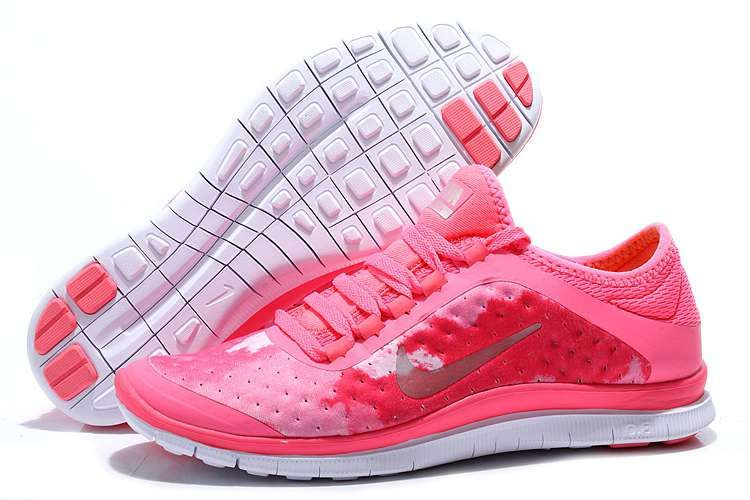 bbcf51084bad Nike Free 3.0 V7 Women Pink Hot Punch Coral