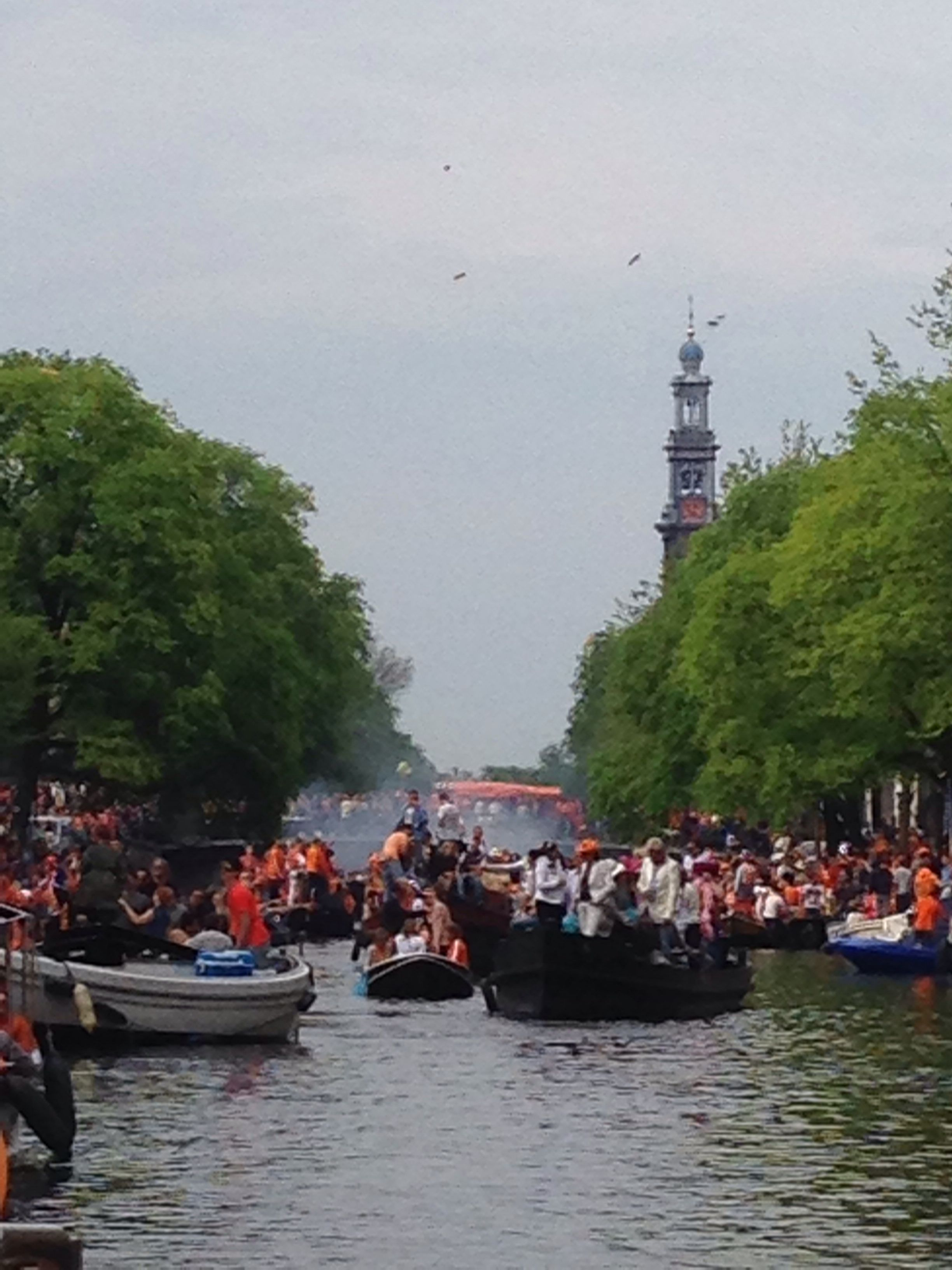 The King's day, the Netherlands