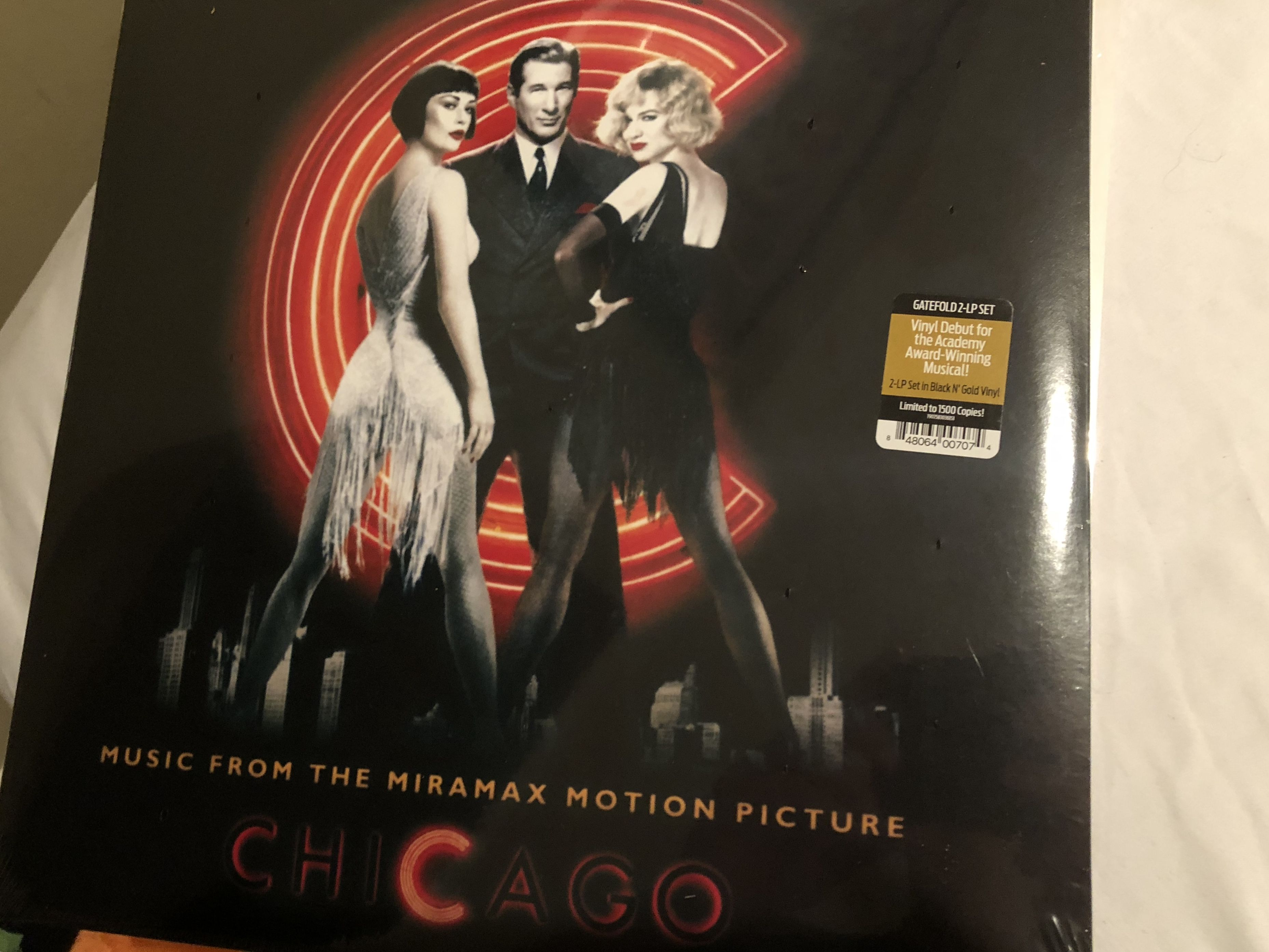 Chicago Soundtrack 2018 Release Pictures Chicago Vinyl Record Collection Motion Picture