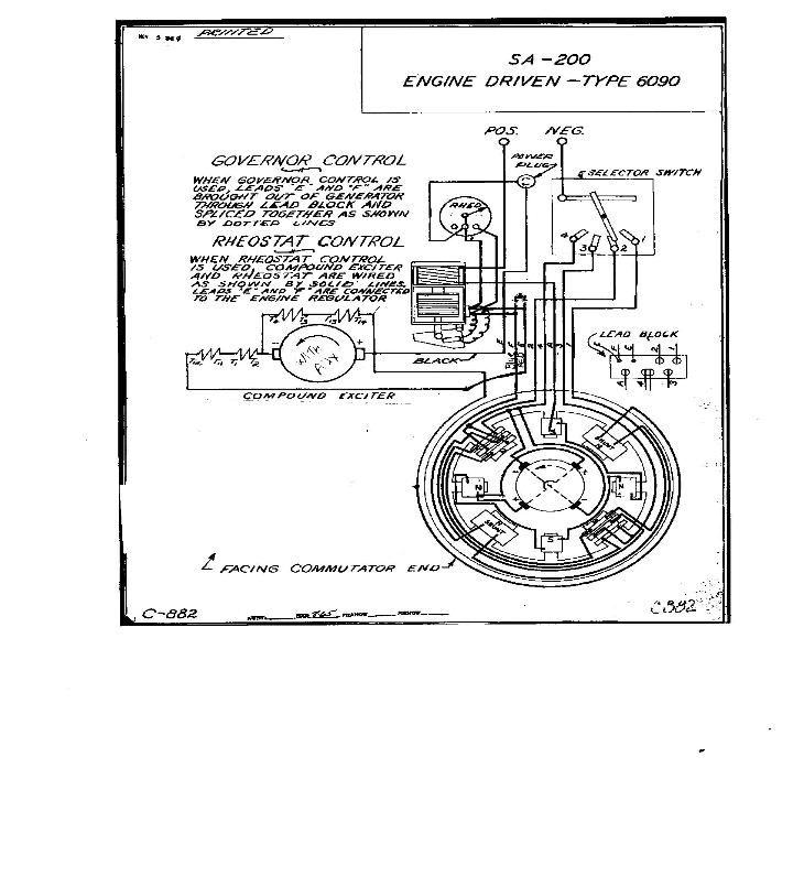 lincoln sa200 wiring diagrams | LINCOLN SA200 WIRING
