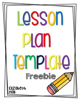 After getting a lot of questions on how i create these visual lesson plan template freebie from elizabeth hall tpt saigontimesfo