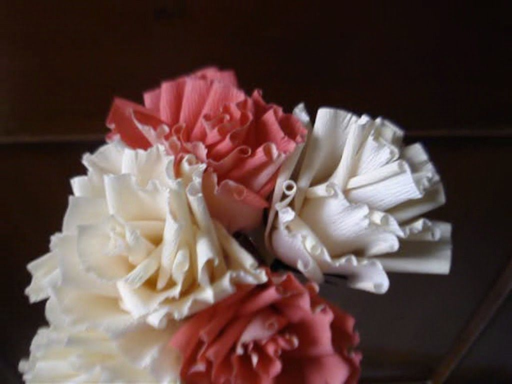 How To Make Paper Flower Big Roses Paper Flowers Pinterest