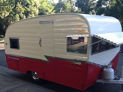 1960 Shasta Trailer In Excellent Condition Inside And Out Vintage