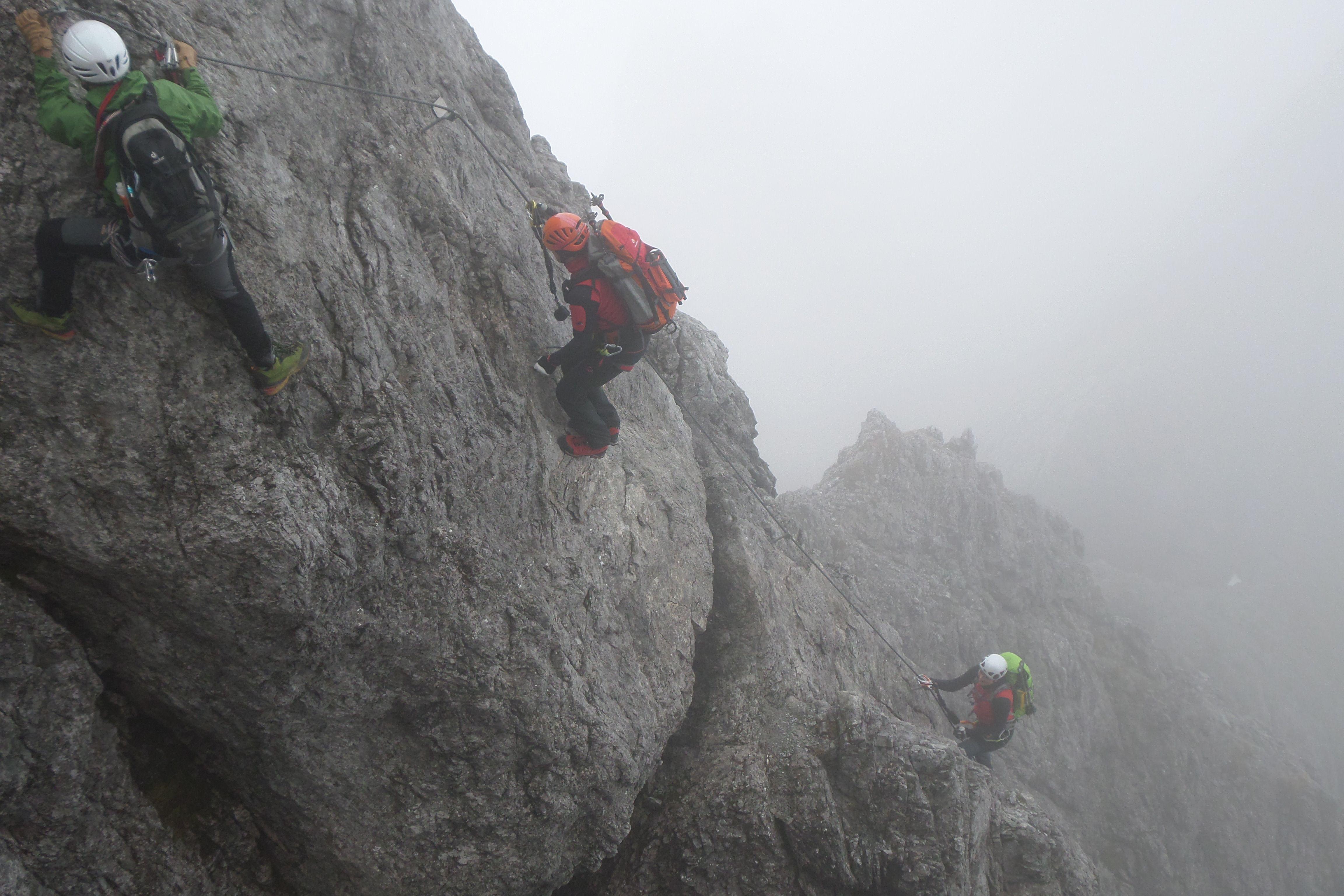 Klettersteig Salzburg : Über den dächern von salzburg