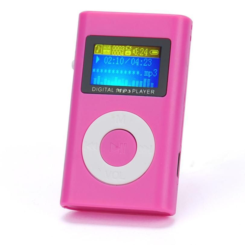 Mini Lcd Screen Mp3 Player Pink Buy One Get Two Y Kwikibuy Amazon Global Shopping Festival 11 11 Mp3 Player Mp3 Music Player