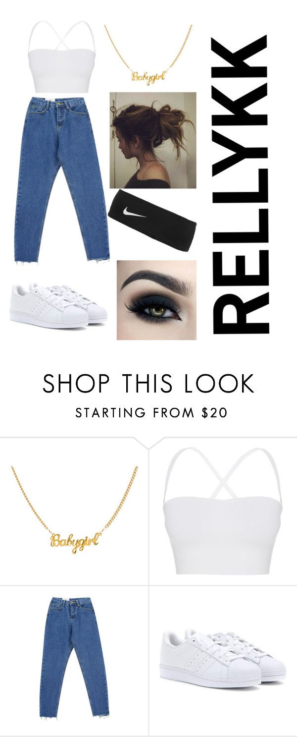 """""""CASUAL"""" by rellykk on Polyvore featuring Theory, Chicnova Fashion, adidas, NIKE and Too Faced Cosmetics"""