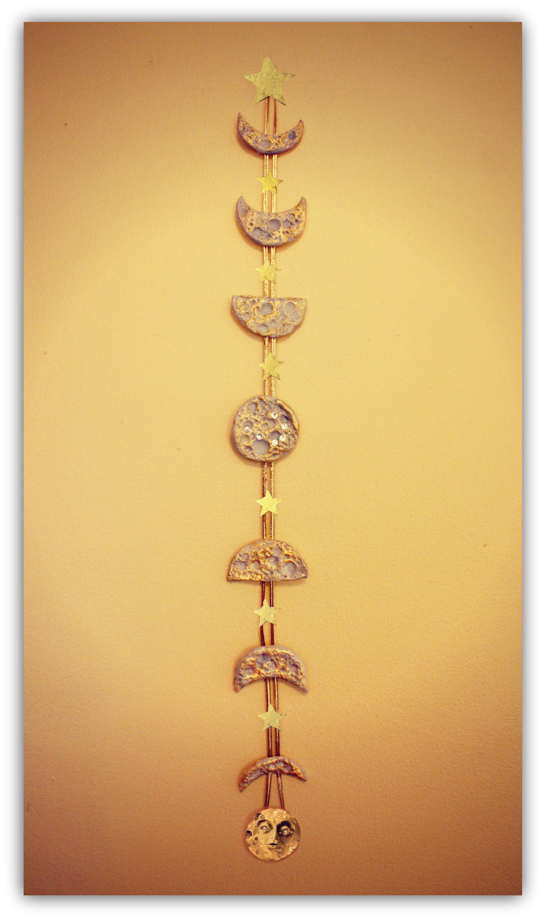 In this AstroCrafts project we will create a Lunar Wall Hanging ...