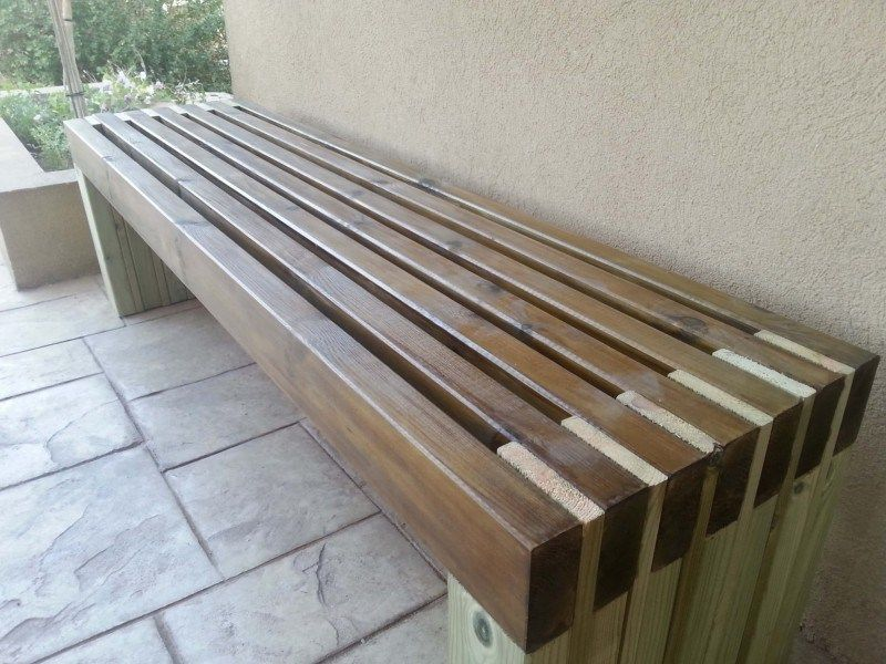 45 Best Diy Outdoor Bench Ideas For Seating In The Garden Wood