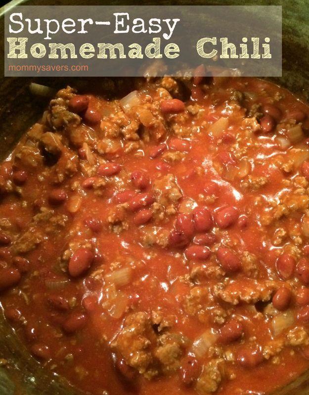 die besten 25 hausgemachte chili rezepte ideen auf pinterest hausgemachtes chilli con carne. Black Bedroom Furniture Sets. Home Design Ideas