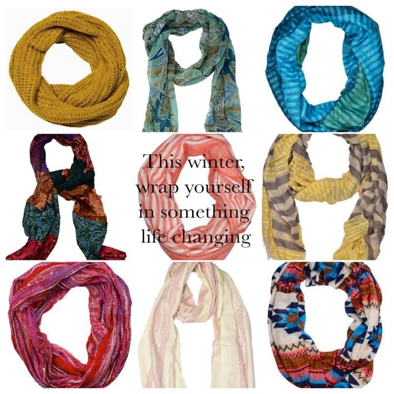 #Scarves #Fairtrade #TradesofHope   Which one fits your style?