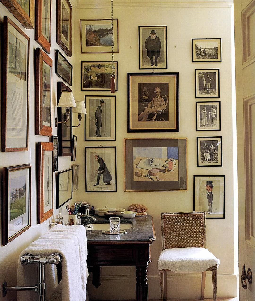 #interieur #decorazioni #decor #deco #decorate #decorate #decoração  #decoración. Living Room Gallery WallCountry House ...