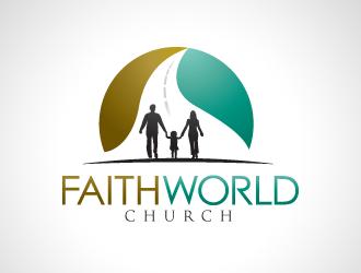 Faithworld Church logo design concepts #332 | Church logo ...