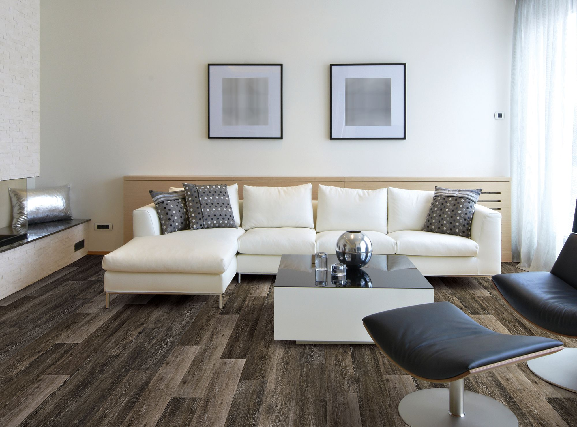 63 best coretec plus engineered luxury vinyl tile plank flooring aesthetic look of real oak love the contrast of the light dark and pops jameslax Choice Image