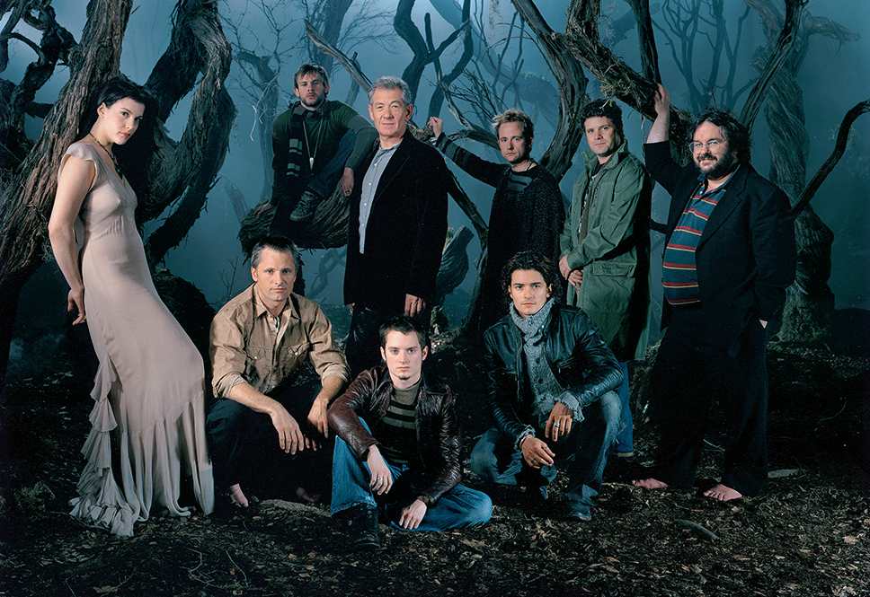 The Lord Of The Rings Cast With Peter Jackson Lord Of The Rings The Hobbit Lord