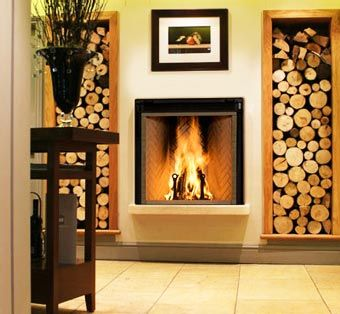 Cool Wood Burning Fireplace For Modern Spaces Marsh 39 S