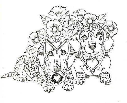 Pin By Eva Guillermina On Patterns Dog Coloring Book Coloring Books Dog Coloring Page