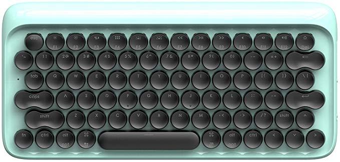 Amazon Com Bluetooth Mechanical Keyboard Vintage Keyboard Retro Keyboard Lofree Dot Wireless Keyboard For Mac Android Windows W Keyboard Wireless White Lead