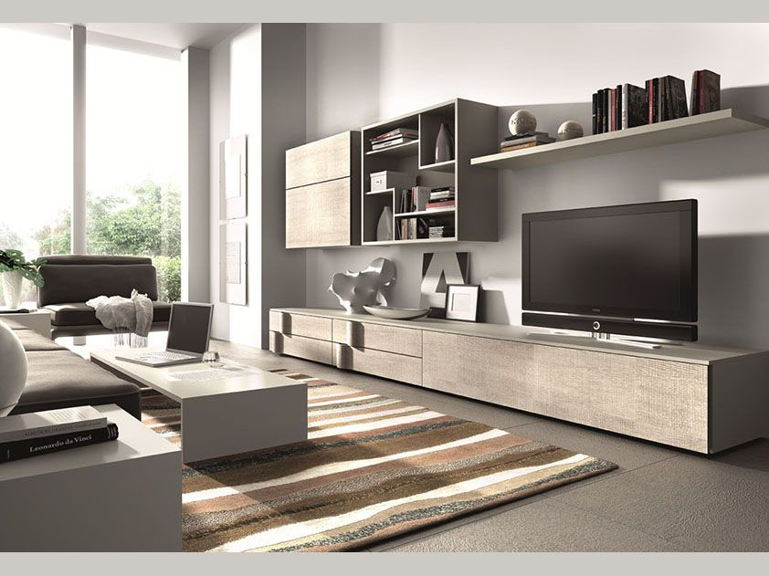 Muebles de salones comedores clever 3 02 comentados en for Muebles bajos para salon