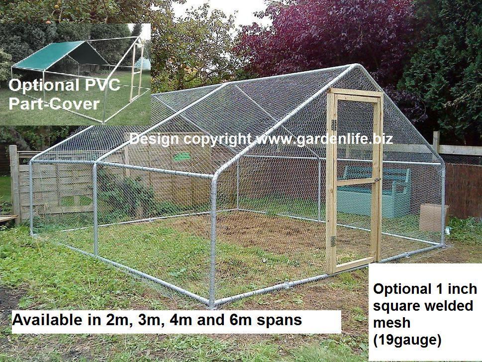 Image result for chicken portable run   sna   Pinterest   Steel ...