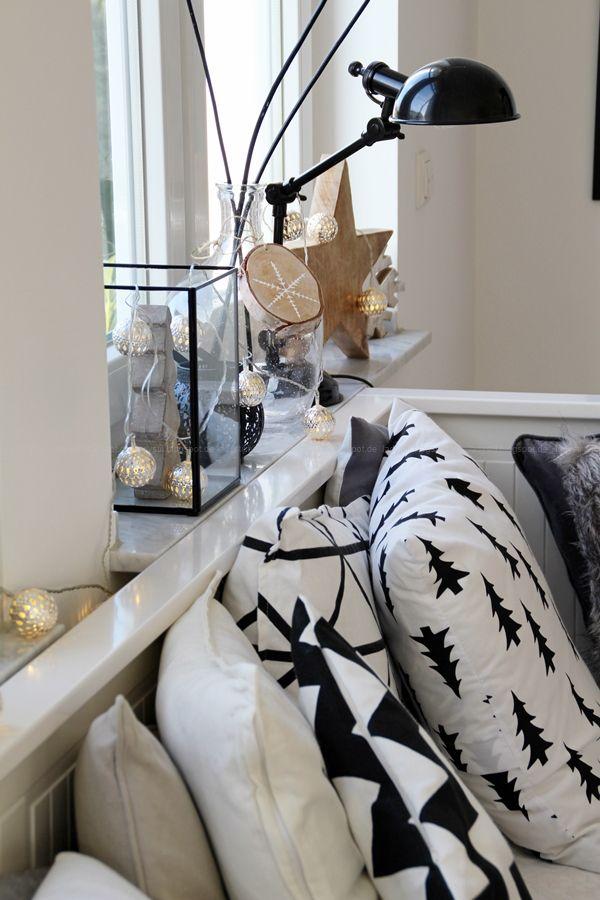 Weihnachts-Deko-Ideen für Küche und Wohnzimmer Scandi-Bohostyle - wohnzimmer mit kuche ideen