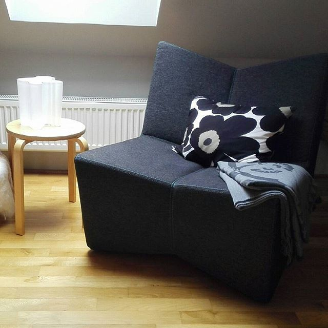 Place For Relax In Our Showroom Chair From Vespera Pillow