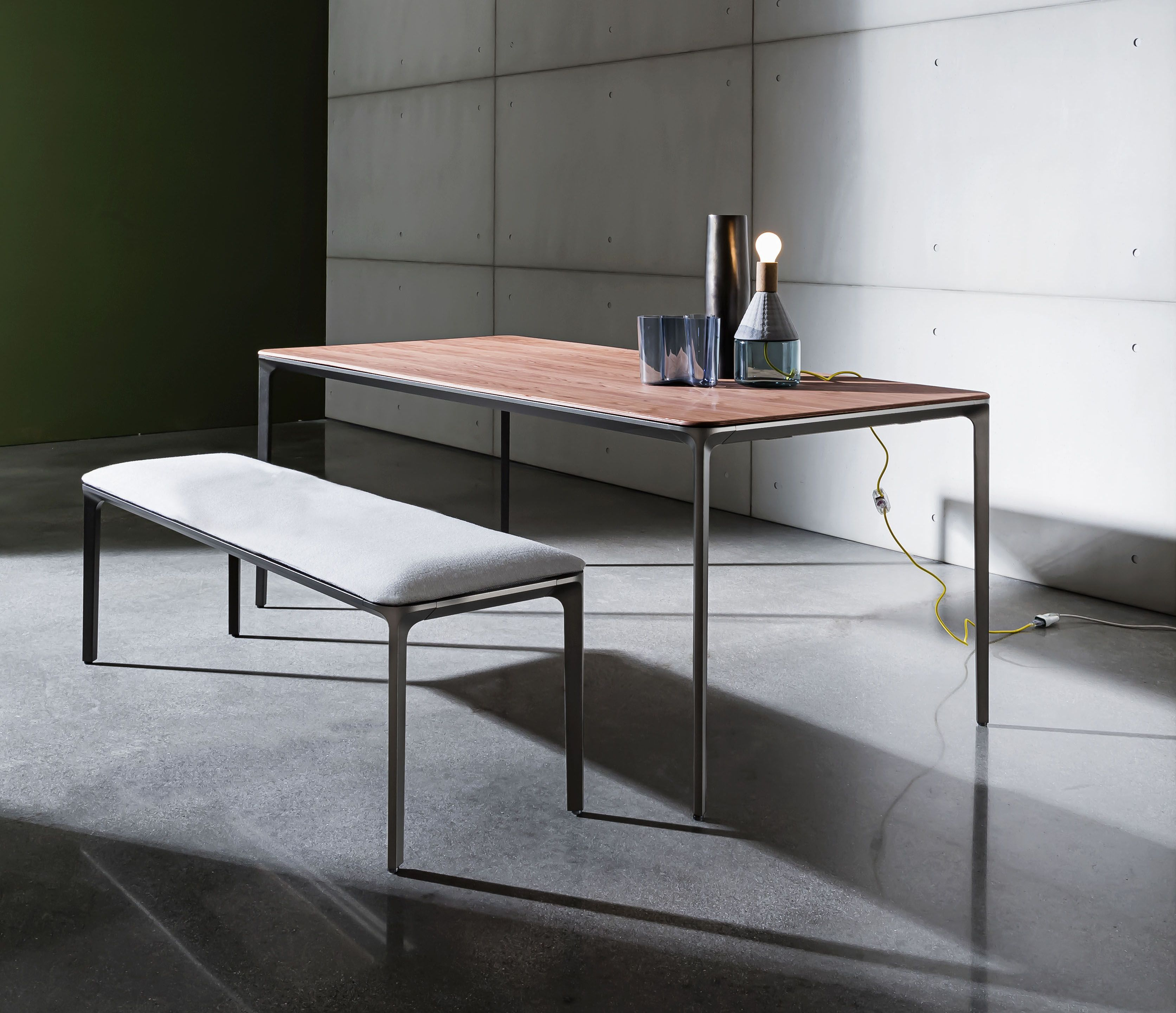 Slim Table Bench Furnish Home And Contract Spaces With