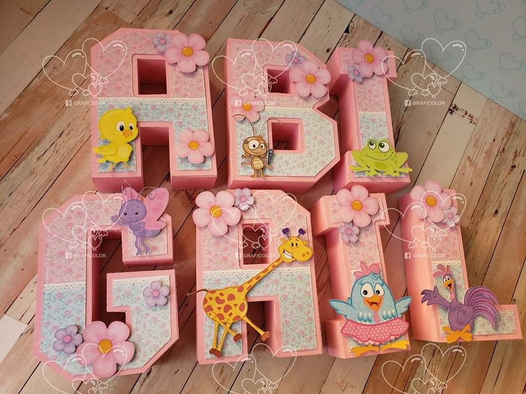 Pin By Katty On Letras 3d Letter Standee Diy Letters Decorative Letters