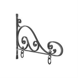 Iron Sign Bracket Forged Scroll Bracket Sign Post Sign Hanger Great Ironwork For Hanging Your Sign 13 92000 3 Sign Bracket Steel Signs Wrought Iron Decor