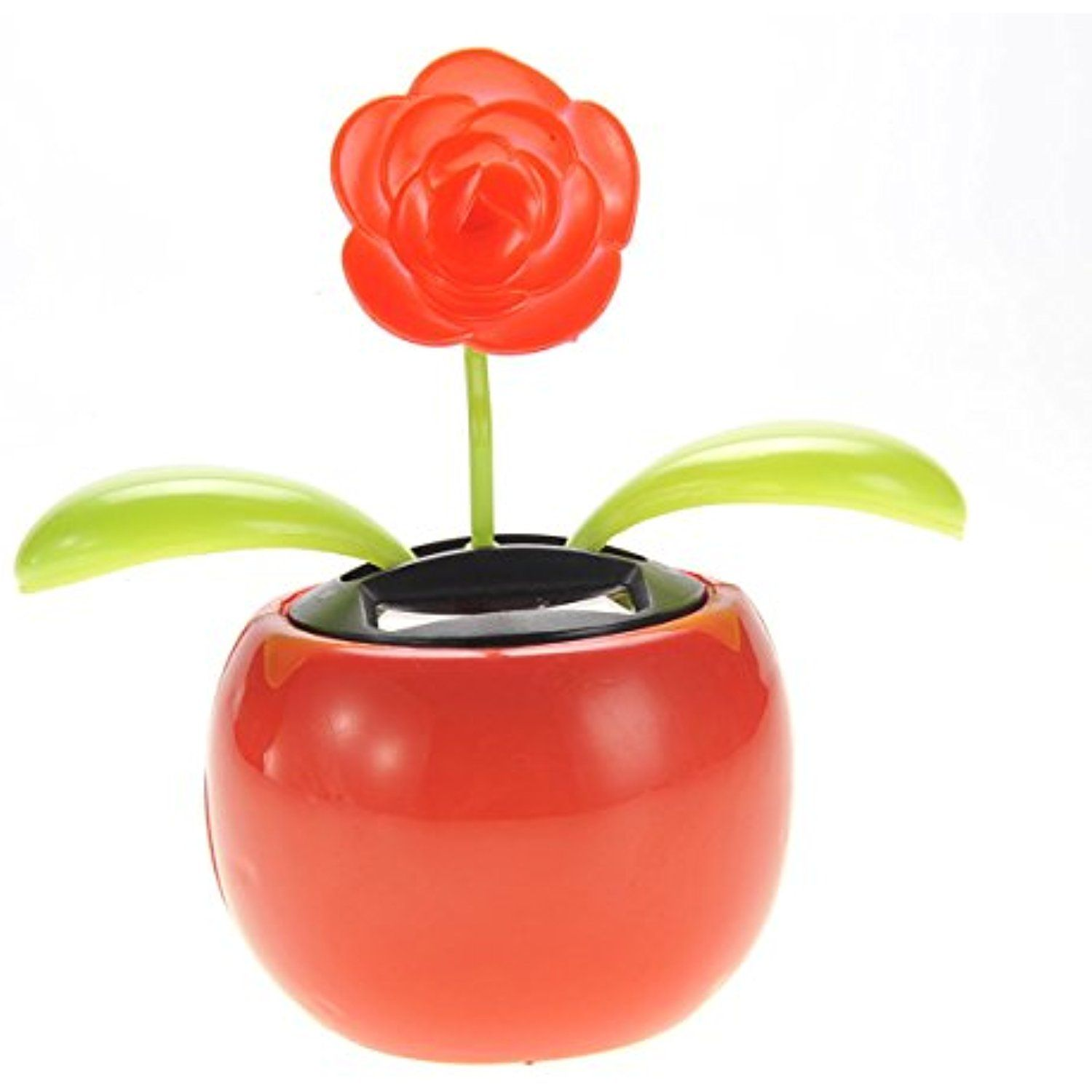 Ampersand Shops Solar Powered Dancing Flower Pot Red Flower Continue To The Product At The Image Link This Is An Af Solar Flower Flower Toy Flower Pots