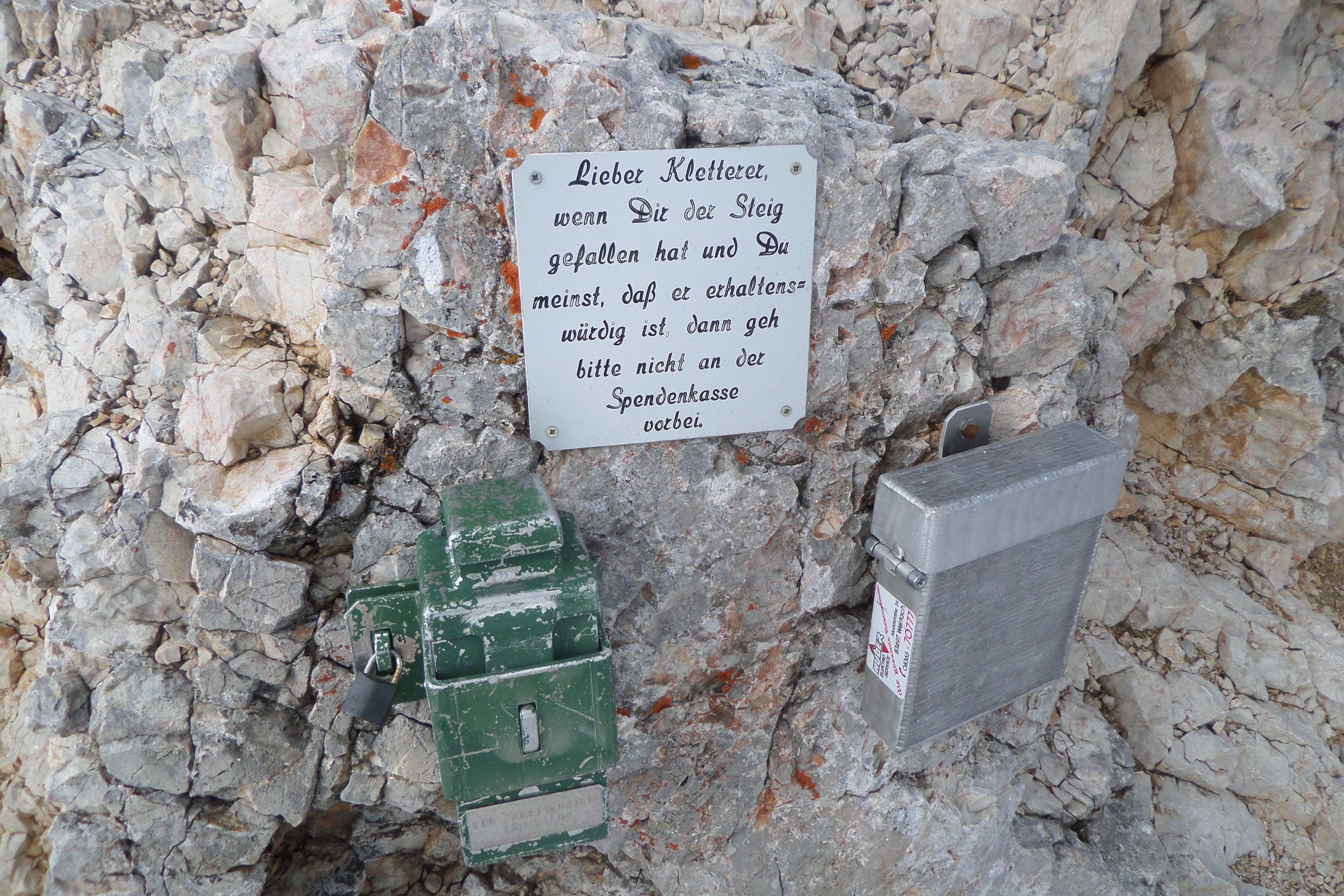 Klettersteig Königsjodler : Königsjodler klettersteig m hiasb
