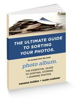 Free e-book on how to sort your photos. Great advice from kolo.com The Ultimate Guide to sorting your photos #thephotoorganizers
