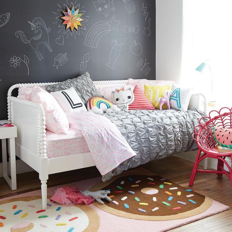 Cute Bedroom Decorating Ideas For Modern Girls | Chalkboard walls ...