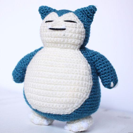 Snorlax Amigurumi Pattern | Pokemon snorlax, Amigurumi and Crochet
