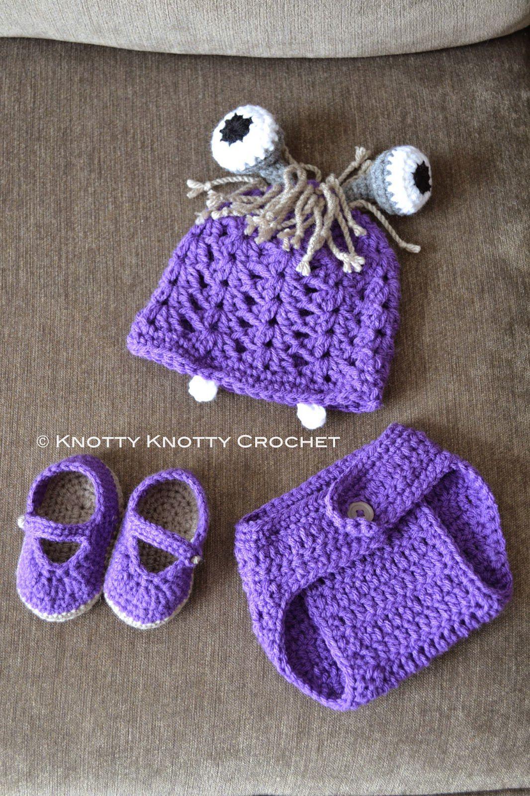 FREE Baby Girl Photo Prop Crochet Patterns
