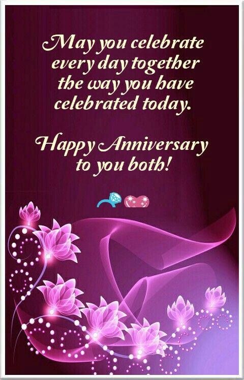 happy anniversary both of
