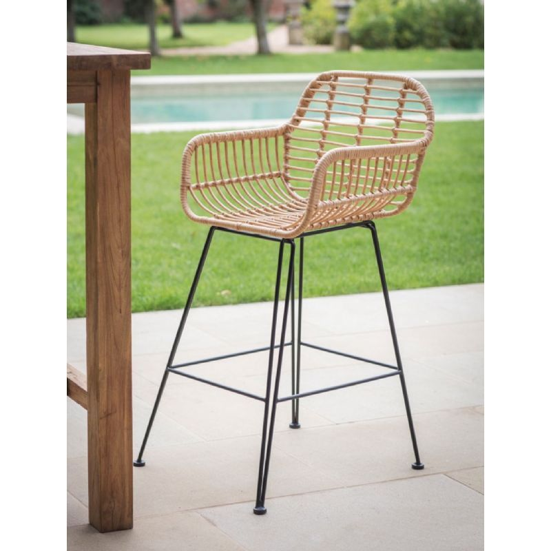 Garden Trading Hampstead Bamboo Bar Stool On Sale Fast Delivery