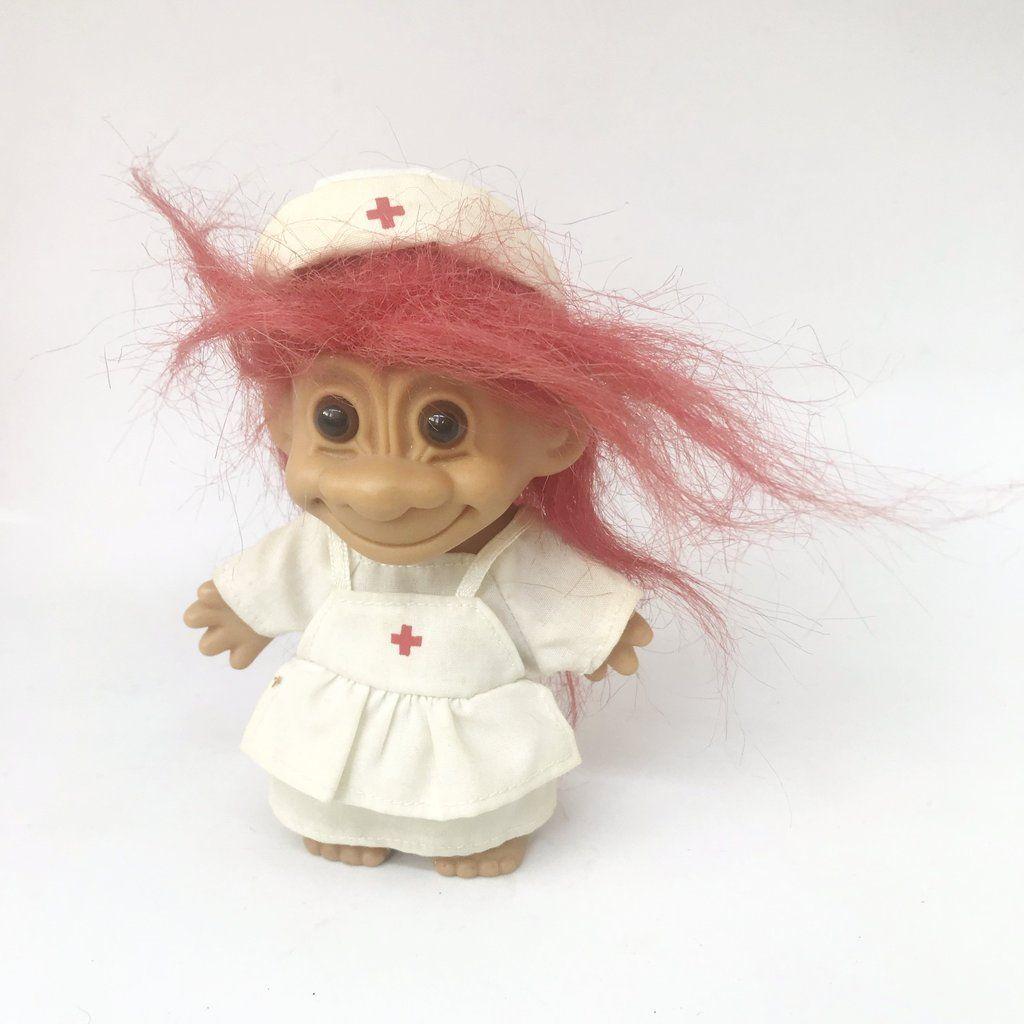 1980s Russ Troll nurse   trolls for sale   Pinterest   Troll and 1980s