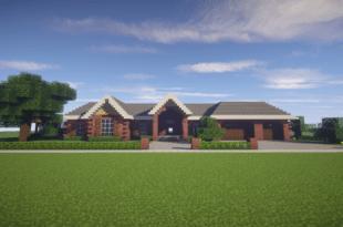 Modern Style House Made In Minecraft Minecraft Pinterest