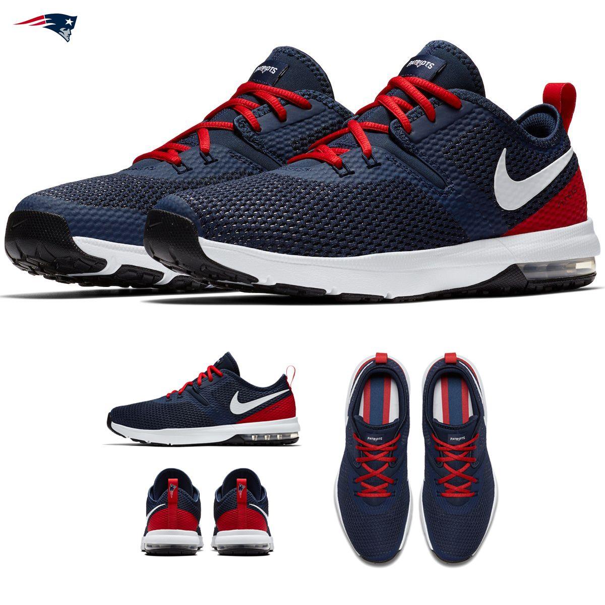 New England Patriots Nike Air Max Typha