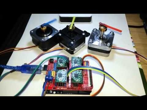 GRBL CNC control with Arduino 1 YouTube Arduino Pinterest