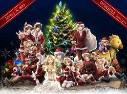 Final Fantasy Christmas.Merry Final Fantasy Christmas Final Fantasy Final